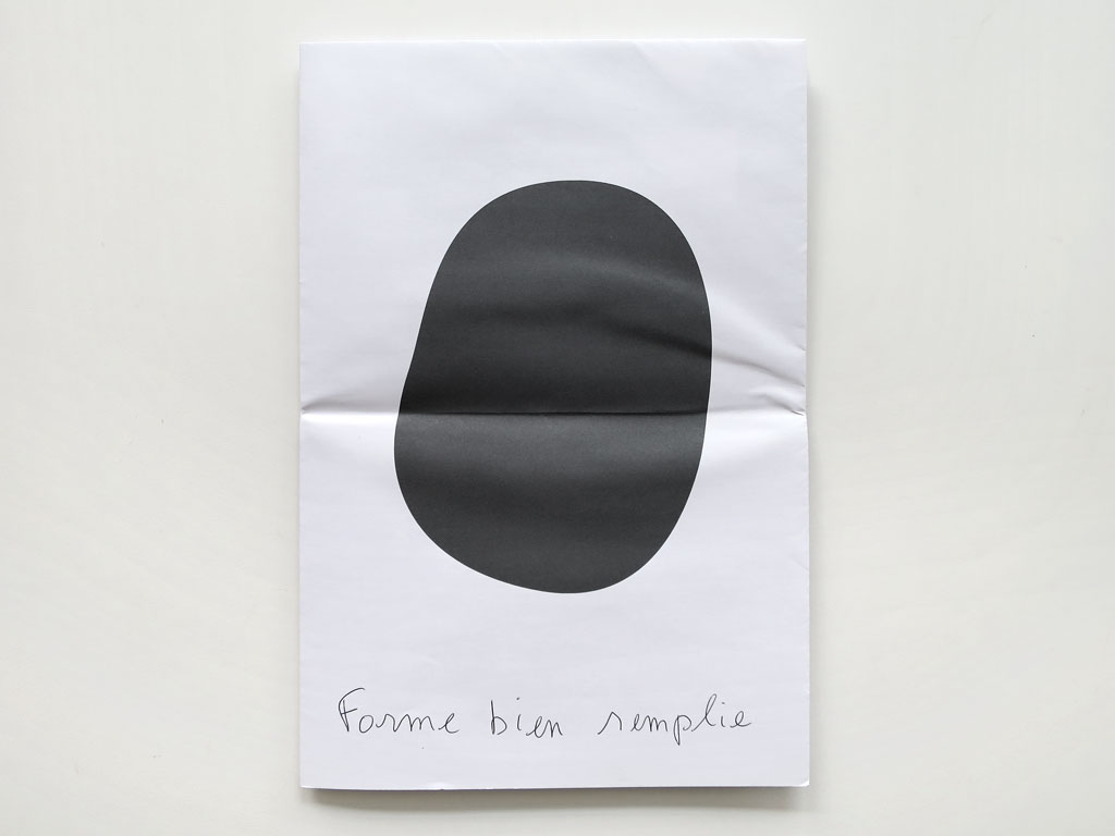 Claude Closky, 'Forme bien remplie [well filled shape]', 2012, Toulouse: Les Abattoirs, Musée d'art moderne et contemporain. In 'a kind of huh?'.